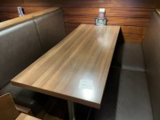 TABLE 1800 x 750 Booth Seating