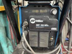 Miller XMT 350 MPA Arc Welder with Equipment (Needs attention)