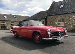 Classic Mercedes 1962 190SL California Import- 22,000 Miles- (Viewing Essential).
