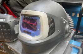 3M Welding Mask SpeedGlass 9100 FX with Adflo