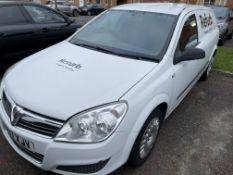 Vauxhall Astra Diesel Van- Year 2007- Registration VU07 XJV