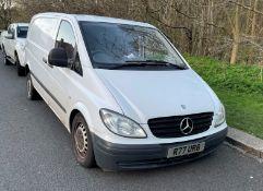 Mercedes Vito Diesel Van- Year 2009- Registration YH09 XVD