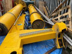 Jib Crane- SWL 1.6 Tonnes with Yale Winch