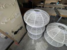 3 X LAMPSHADES (600mm DIAMETER)
