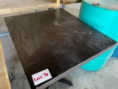 WOODEN BAR TABLE (700 x 600)
