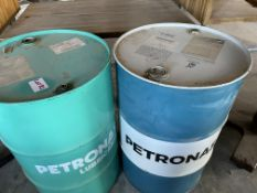 2 X PETRONAS OIL DRUMS