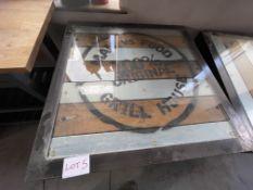 MAN v FOOD SQUARE STEEL DRUM TABLE (800 x 800)
