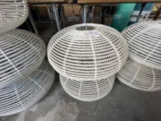 2 X LAMPSHADES (600mm DIAMETER)