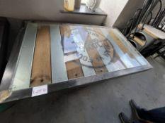 MAN v FOOD STEEL DRUM TABLE (1300 x 800)