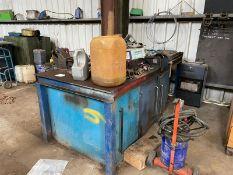 STEEL - WELDING WORK BENCH 2 VICES