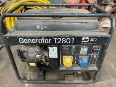 240V-110V GENERATOR T2801
