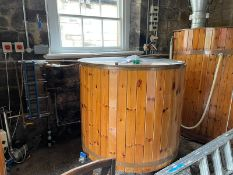COMPLETE BREWERY COMISSIONED BY DAVE PORTER, 8 BARREL PLANT & ALL EQUIPMENT INC 150 KEGS (APPROX)