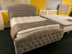 Ex Display Jasmine Kingsize Pillow Top Set RRP 1500