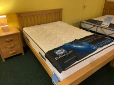Ex Display Shaker Pine Bed Double (Mattress not included- Bed only)