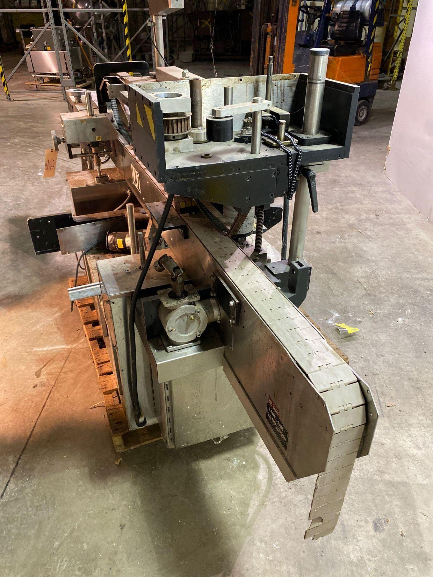 Label-Aire Model 3200 Conveyorized Pressure Sensitive Labeler - Image 6 of 14
