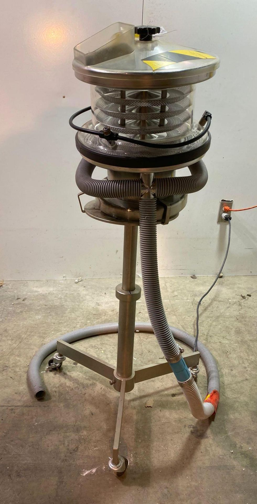 """Kramer Deduster with 10"""" Counter Weight on Stand"""