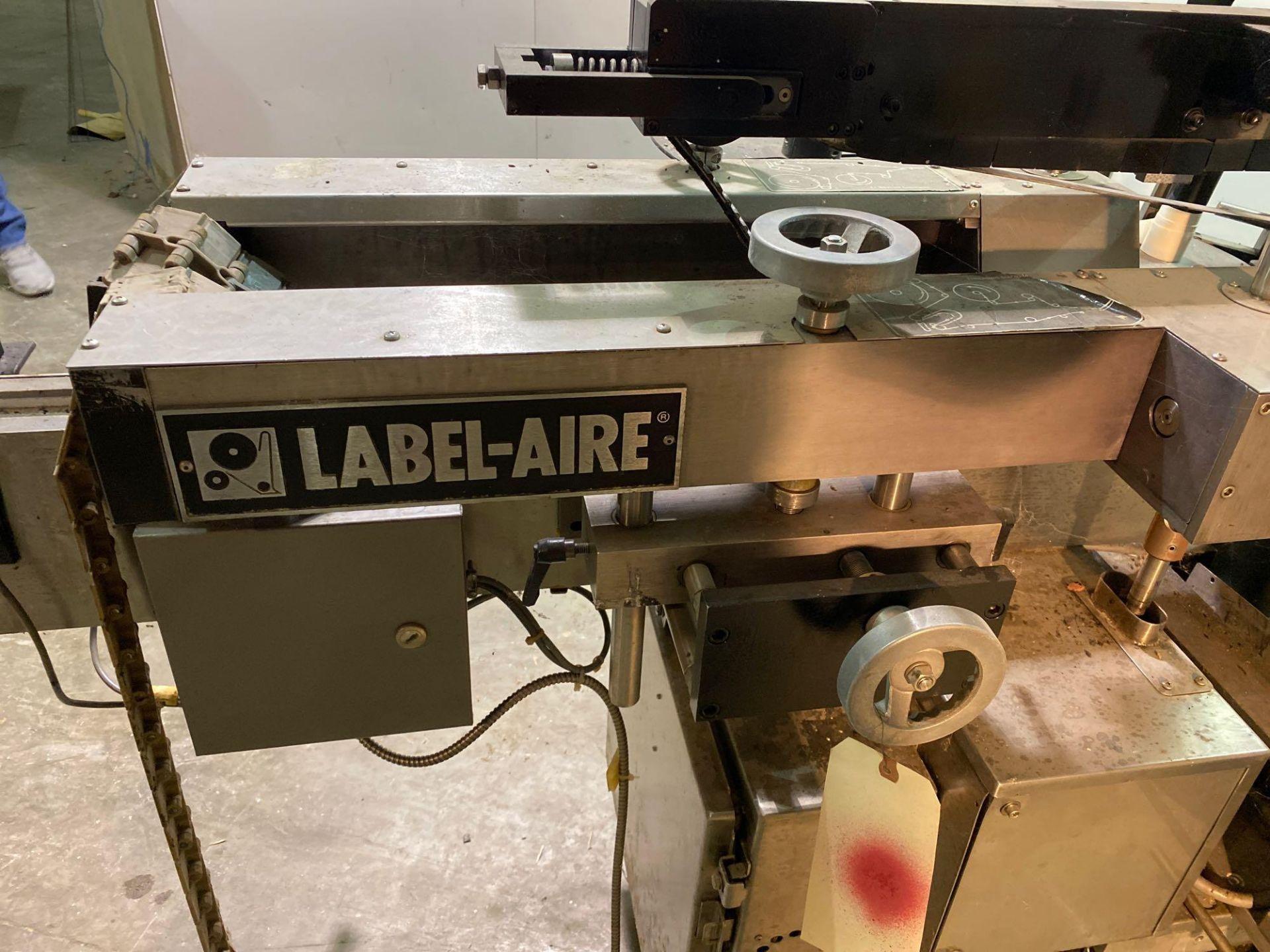 Label-Aire Model 3200 Conveyorized Pressure Sensitive Labeler - Image 3 of 14