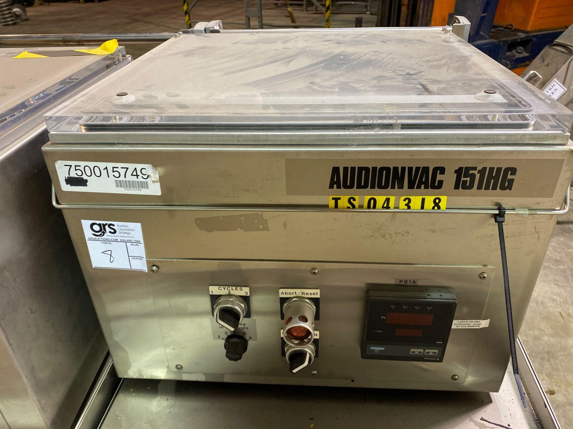 AudionVac VM 151HG - Table Top Vacuum Chamber Packing with Cart - Image 2 of 6