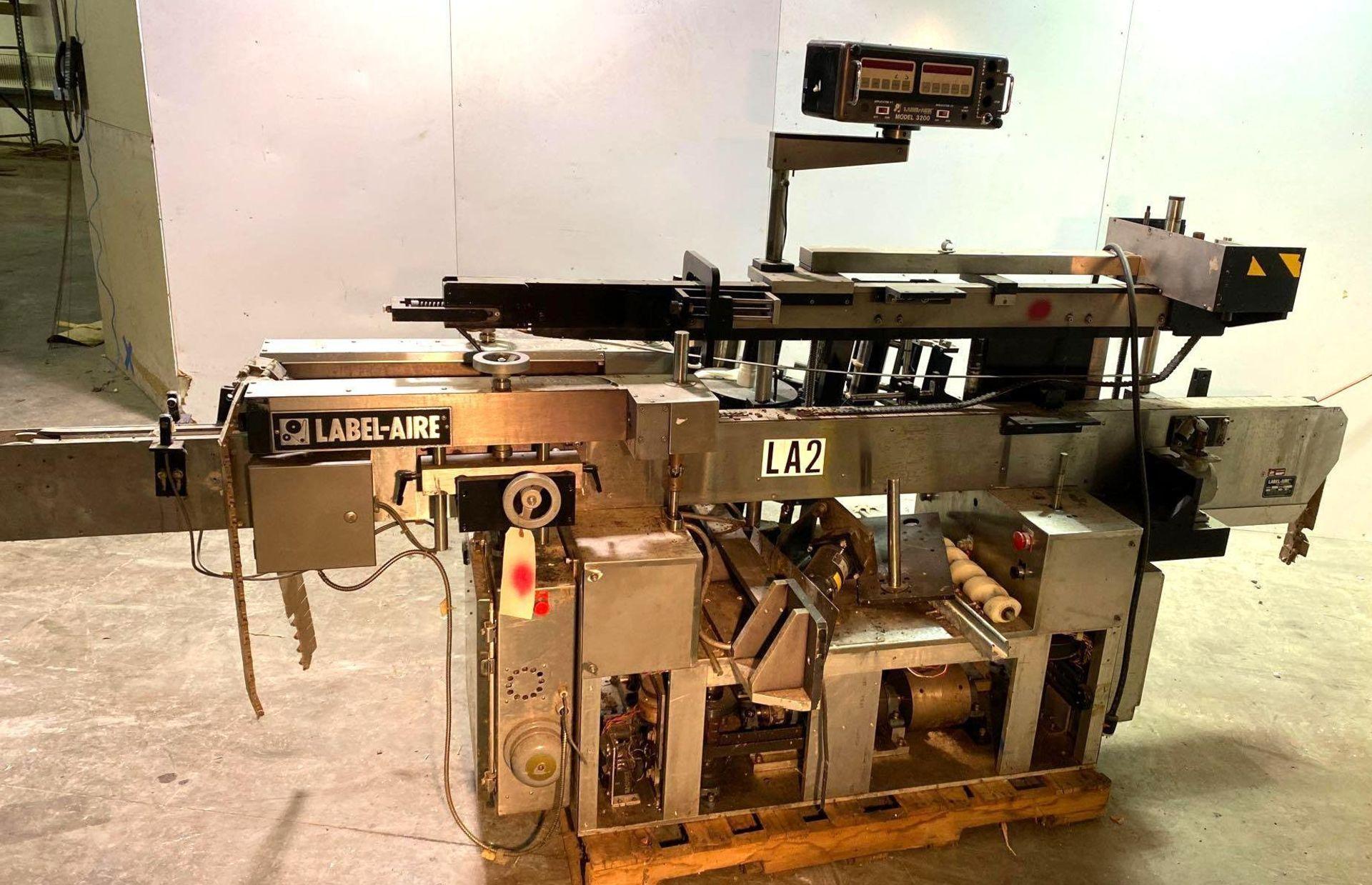 Label-Aire Model 3200 Conveyorized Pressure Sensitive Labeler - Image 2 of 14