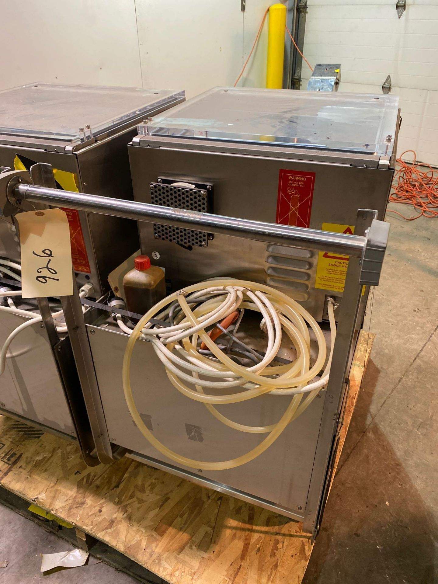 AudionVac VM 151HG - Table Top Vacuum Chamber Packing with Cart - Image 4 of 5