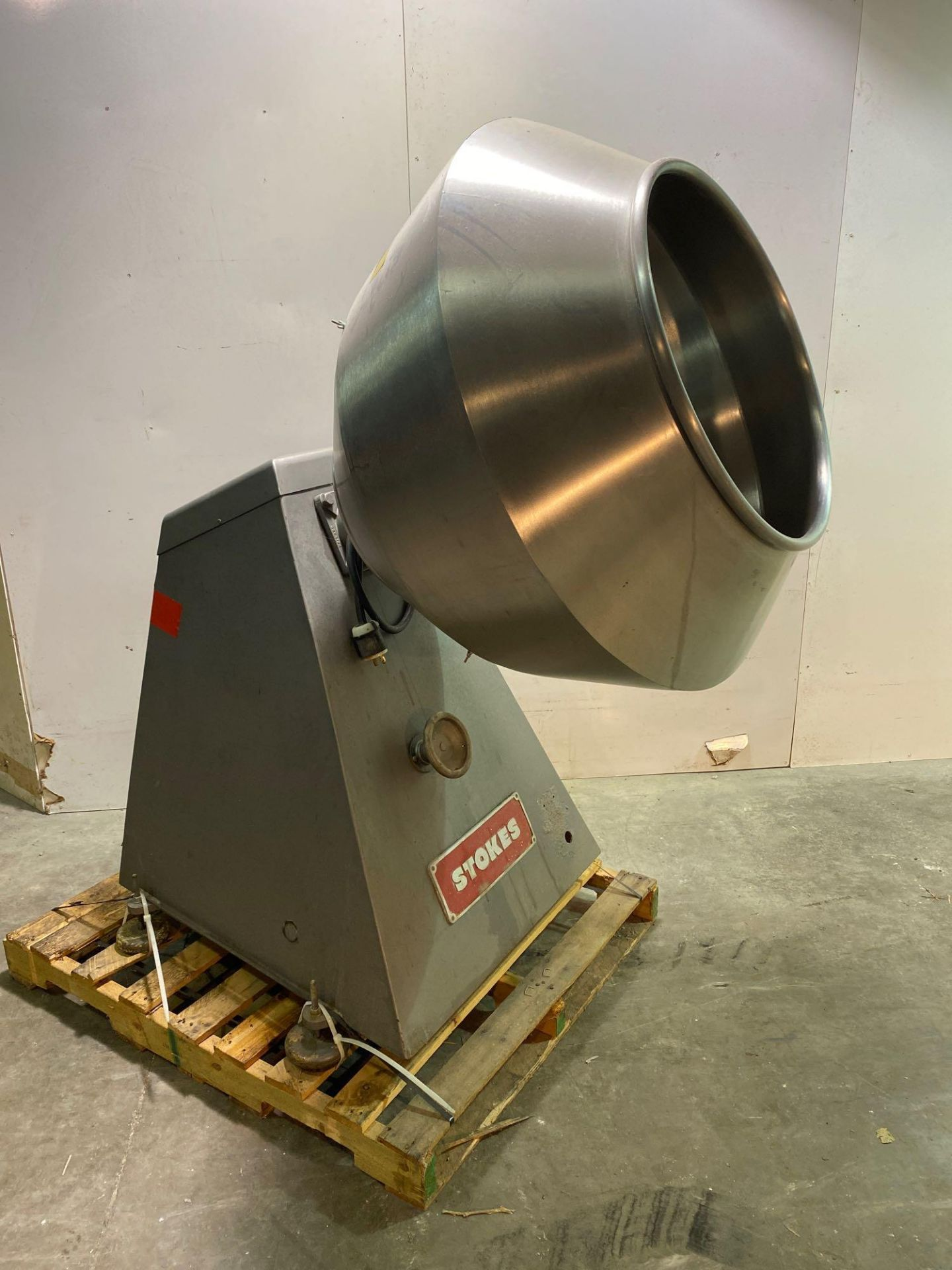 """Stokes 42""""d Coating Pan 900-1-8 - Image 2 of 7"""
