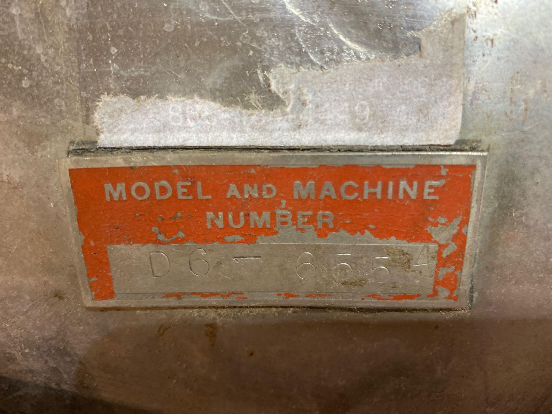 Model D Comminuting Stainless Steel Fitz Mill - Image 6 of 8