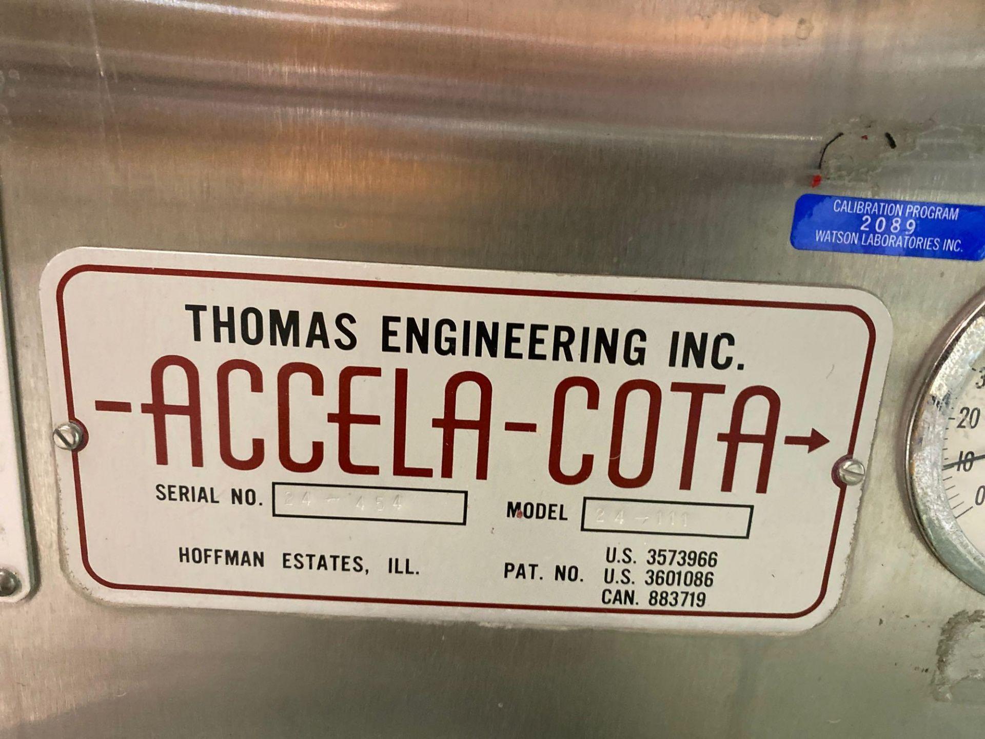 Accela-Cota Coater - Image 2 of 10