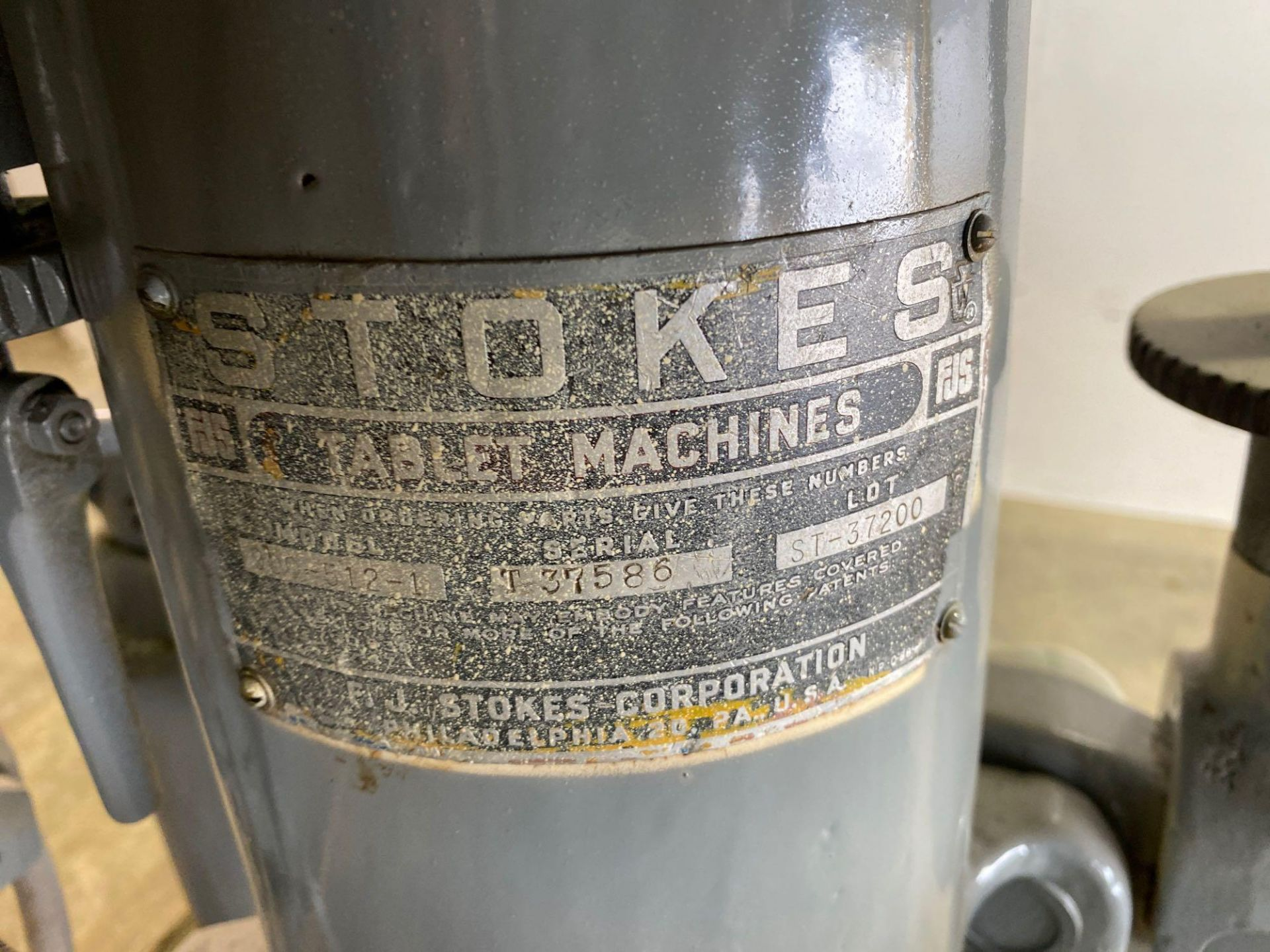 Stokes B2 16 Station Rotary Tablet Press - Image 3 of 13