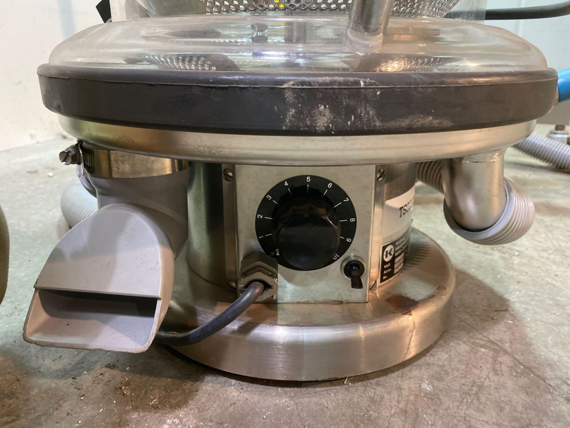 """Kramer Deduster with 10"""" Counter Weight on Stand - Image 7 of 9"""