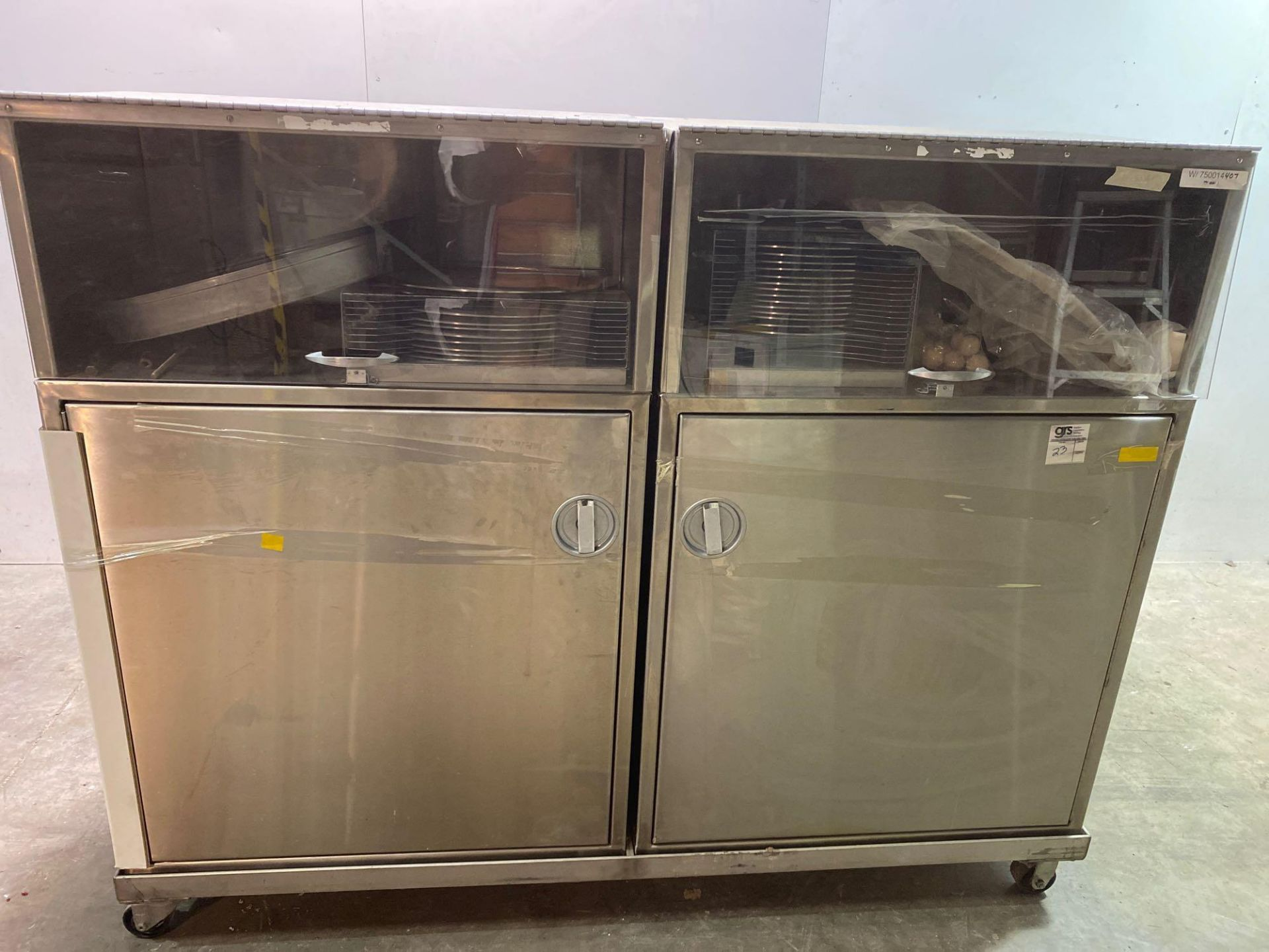 Mobile Stainless Steel Cabinet with Sifter Sieves - Assorted Sizes - Image 3 of 13