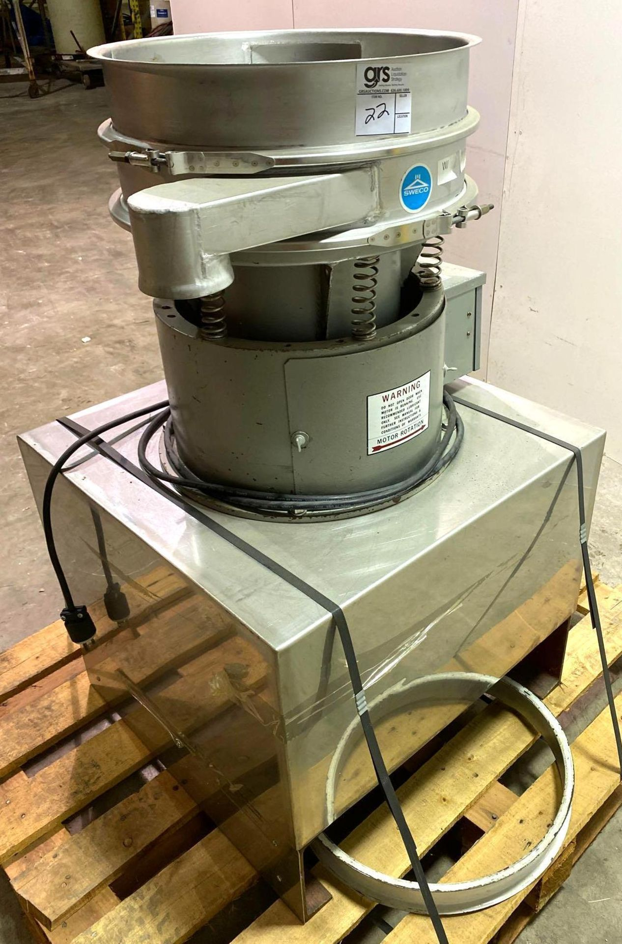 Sweco Vibro Energy Round Separator - Image 3 of 9