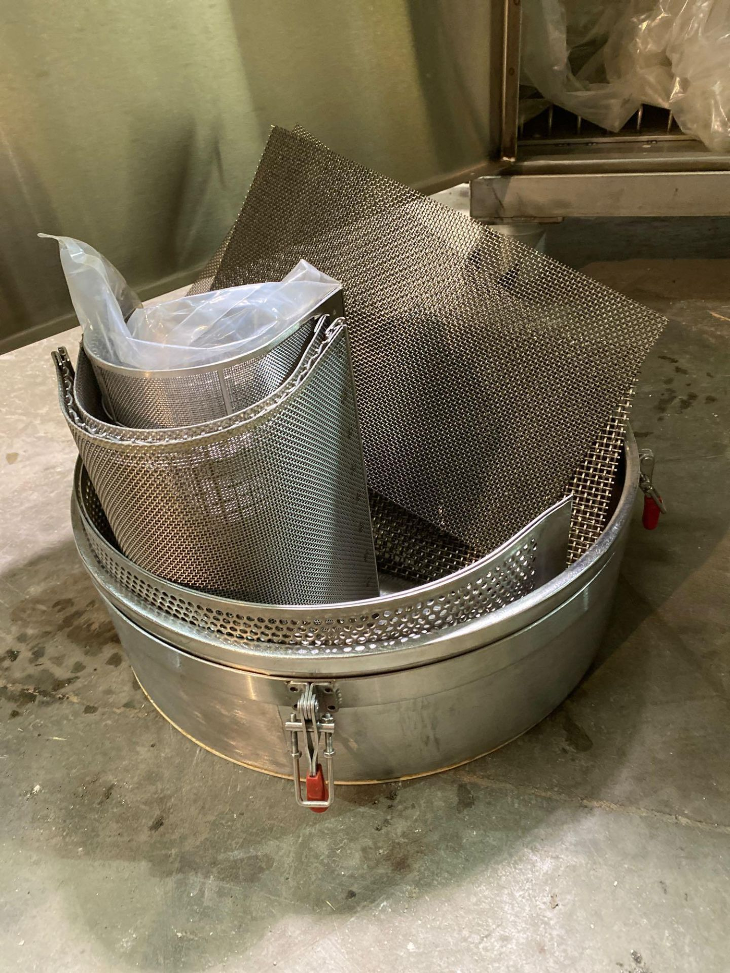 Mobile Stainless Steel Cabinet with Sifter Sieves - Assorted Sizes - Image 5 of 13