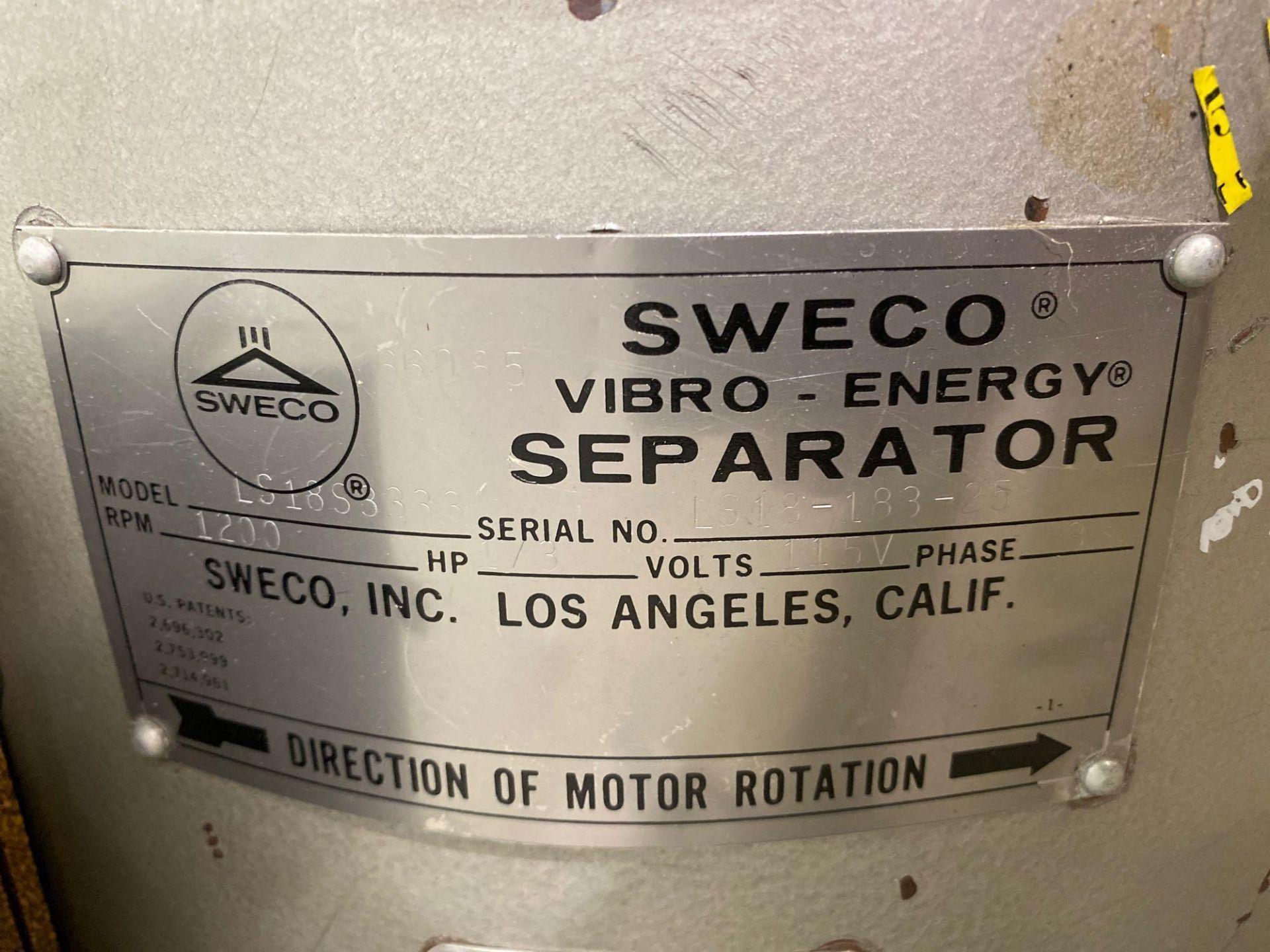 Sweco Vibro Energy Round Separator - Image 6 of 9