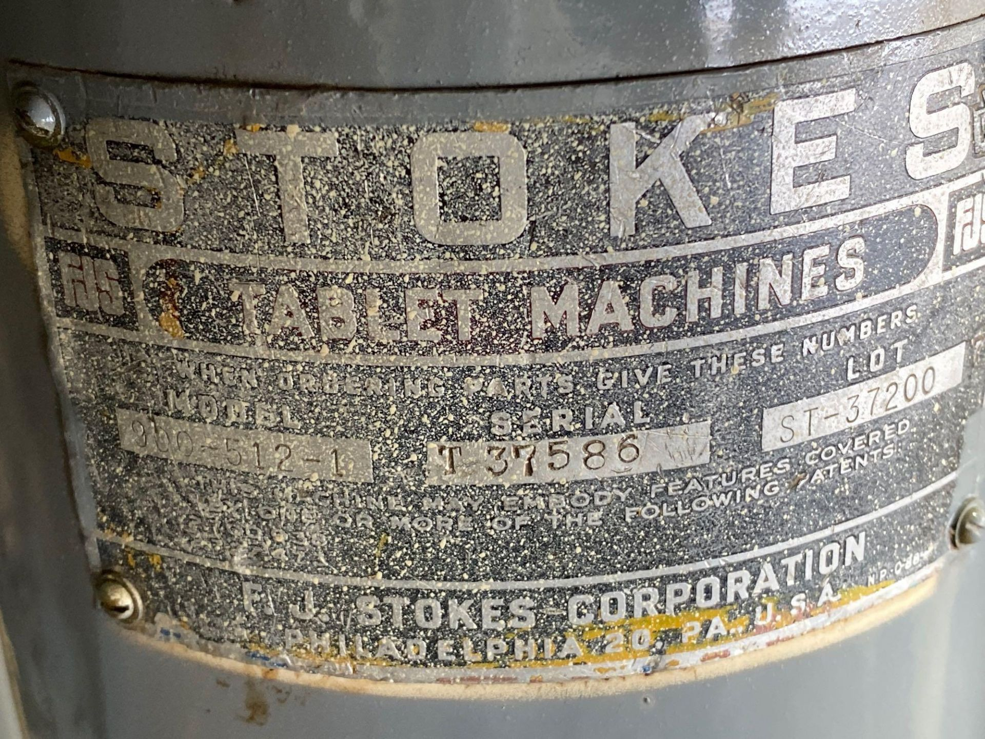 Stokes B2 16 Station Rotary Tablet Press - Image 4 of 13