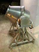 Pharmaceutical Double Cone Blender with Flexidyne Drive