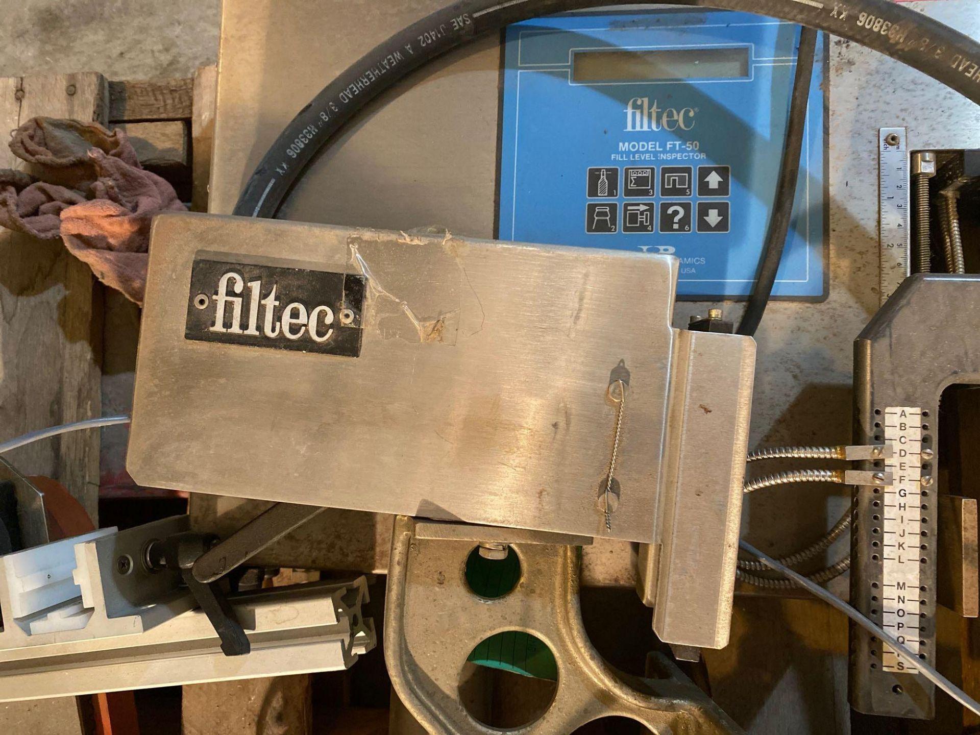 Filtec Jr Model FT 50 Fill Level Inspector - Image 13 of 14