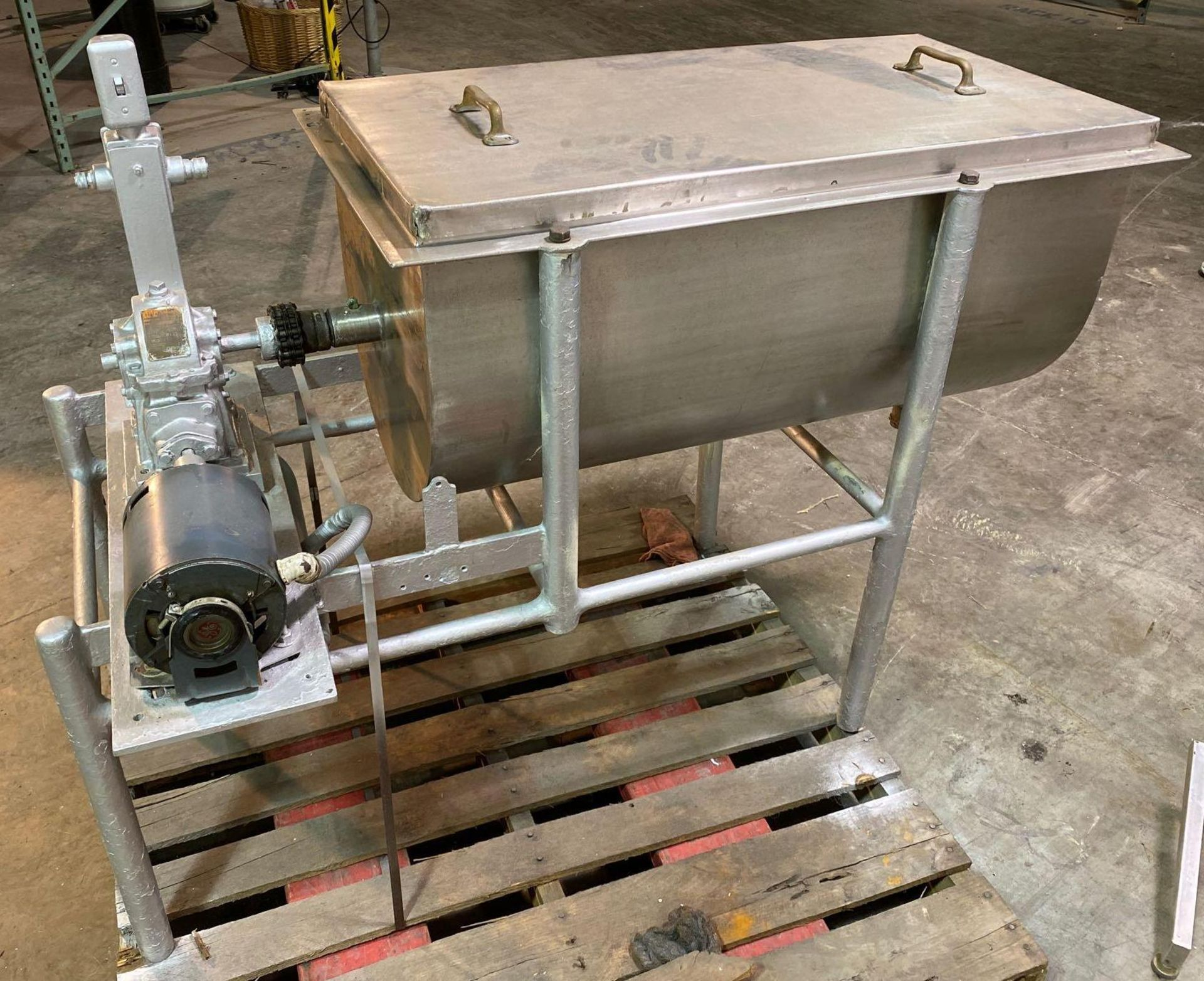 Ribbon/Paddle Blender with Boston Speed Reducer Drive - Image 4 of 5