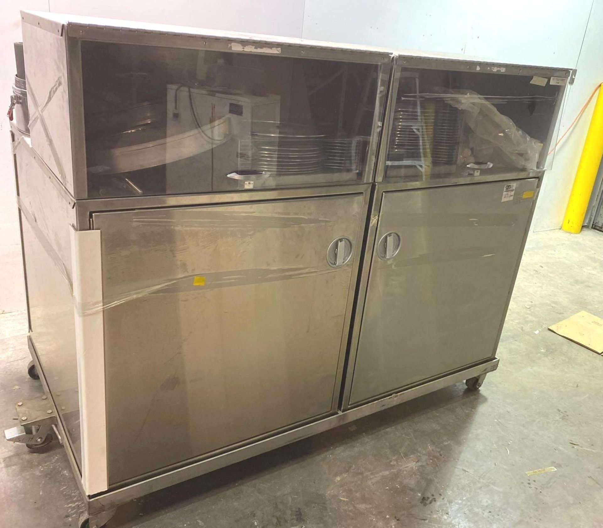 Mobile Stainless Steel Cabinet with Sifter Sieves - Assorted Sizes - Image 2 of 13