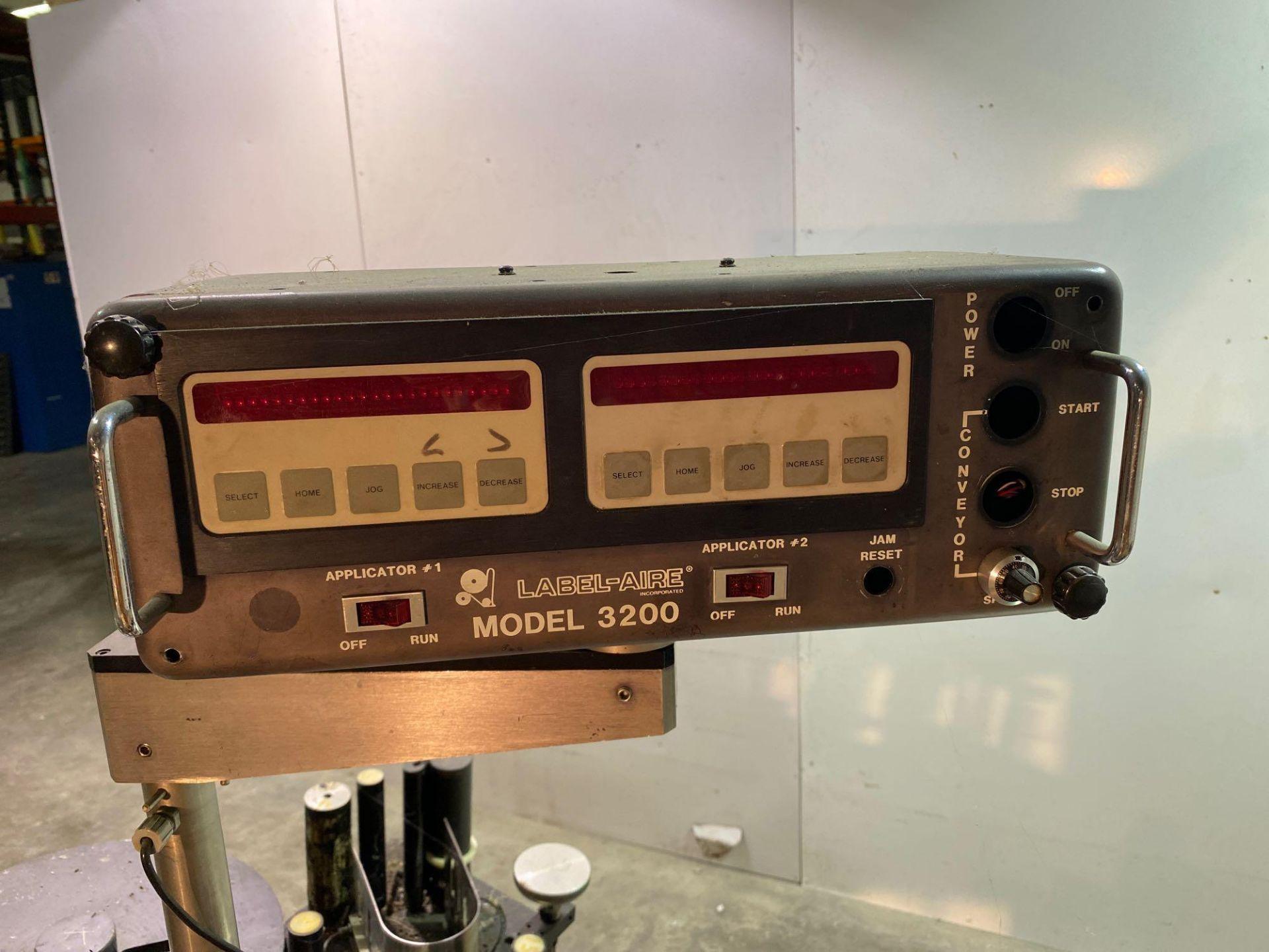 Label-Aire Model 3200 Conveyorized Pressure Sensitive Labeler - Image 9 of 14
