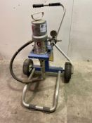Graco Monark Air Powered Pump Sprayer on Cart