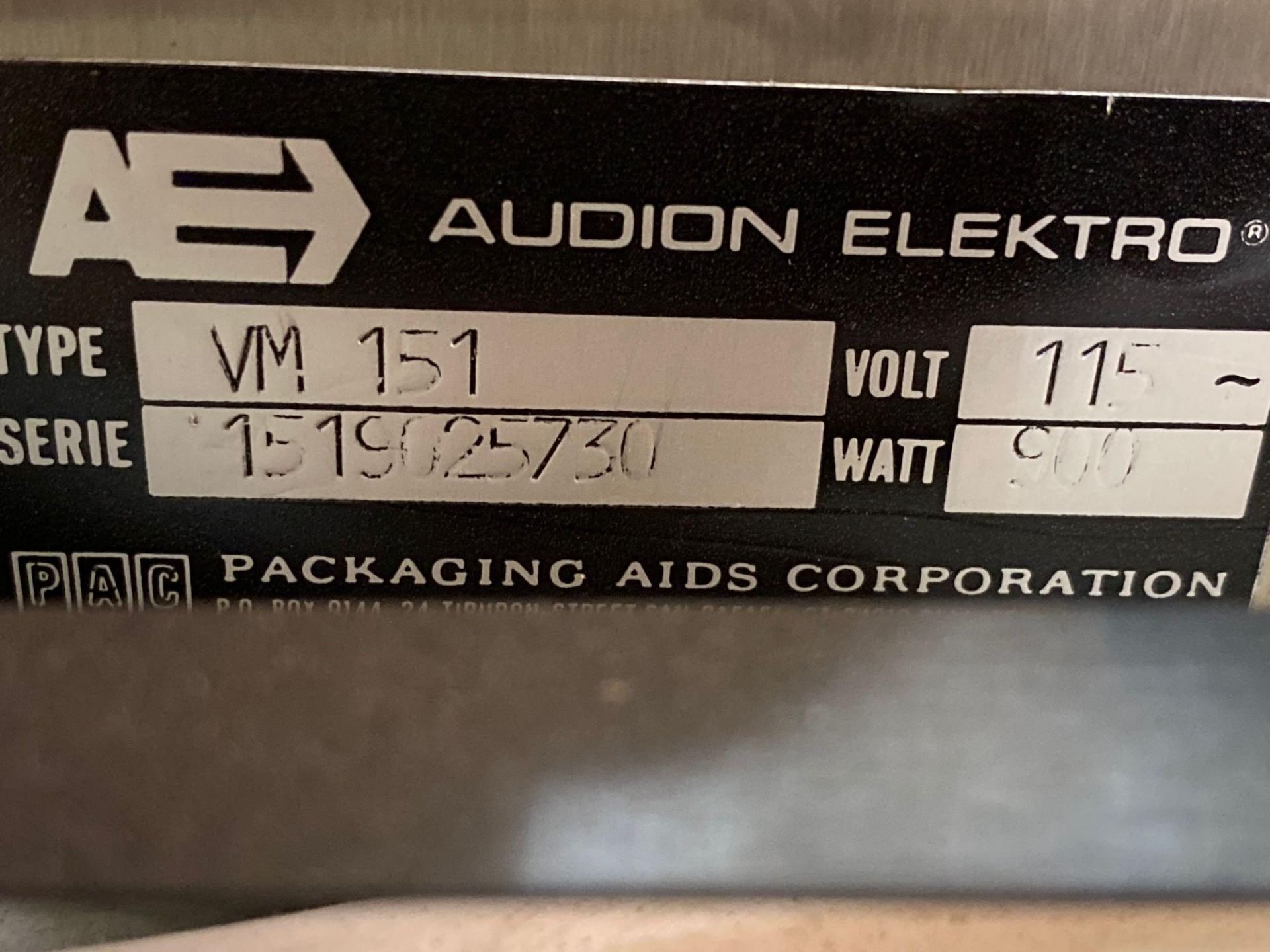 AudionVac VM 151HG - Table Top Vacuum Chamber Packing with Cart - Image 6 of 6