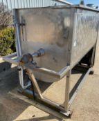 Stainless Steel Ribbon Blender