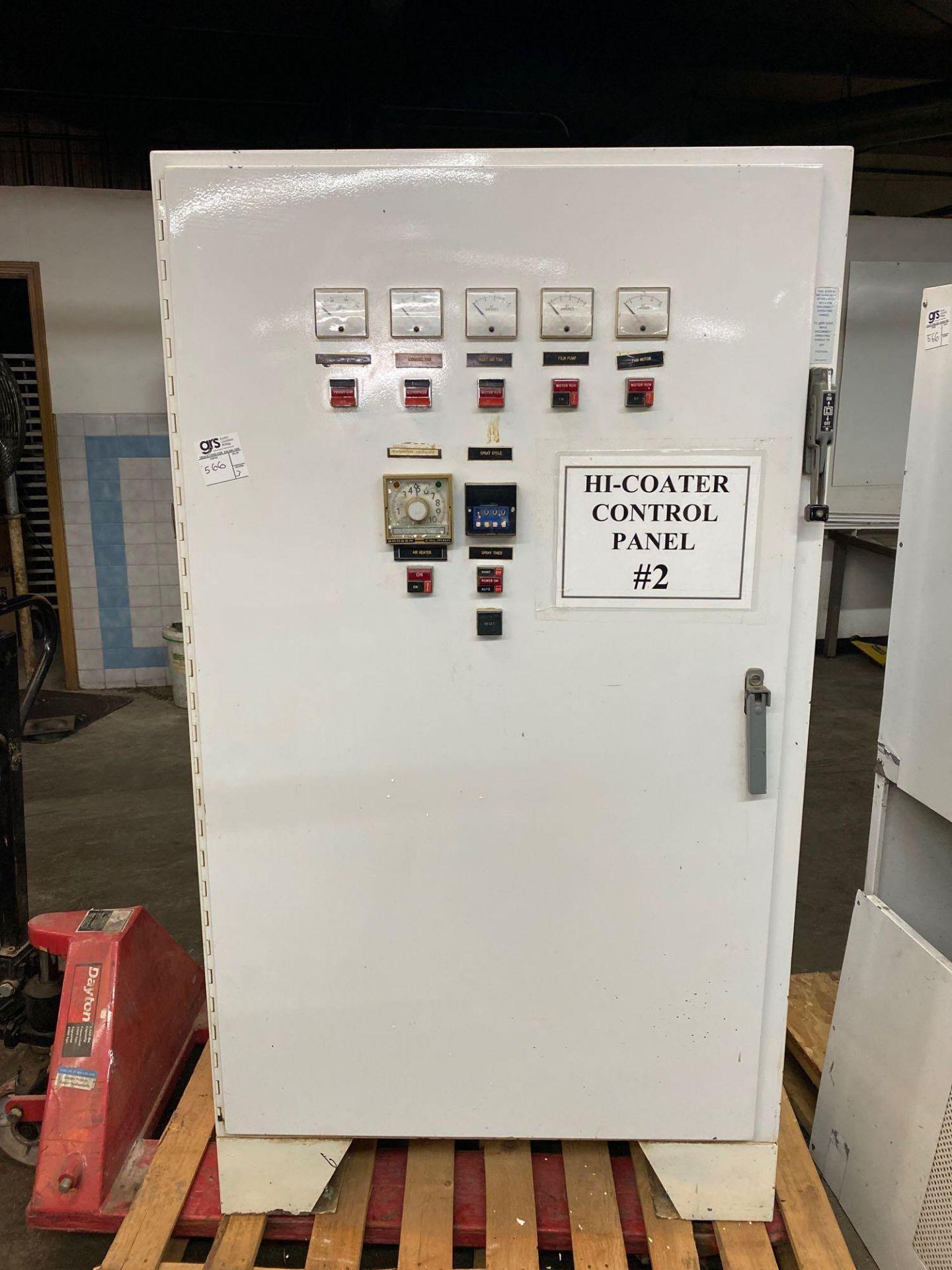 VectorFurend Hi-Coater, Flow Control Pump/Pressure Control - Image 6 of 18
