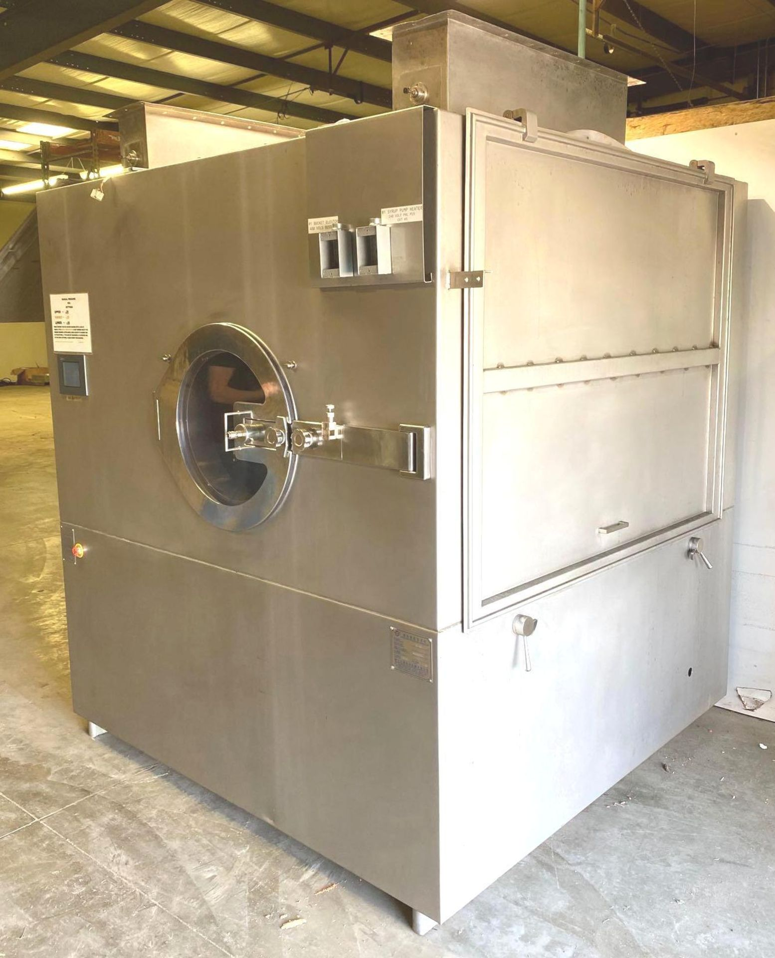 High Efficiency Intelligent Film Coating Machine/Pan Coater