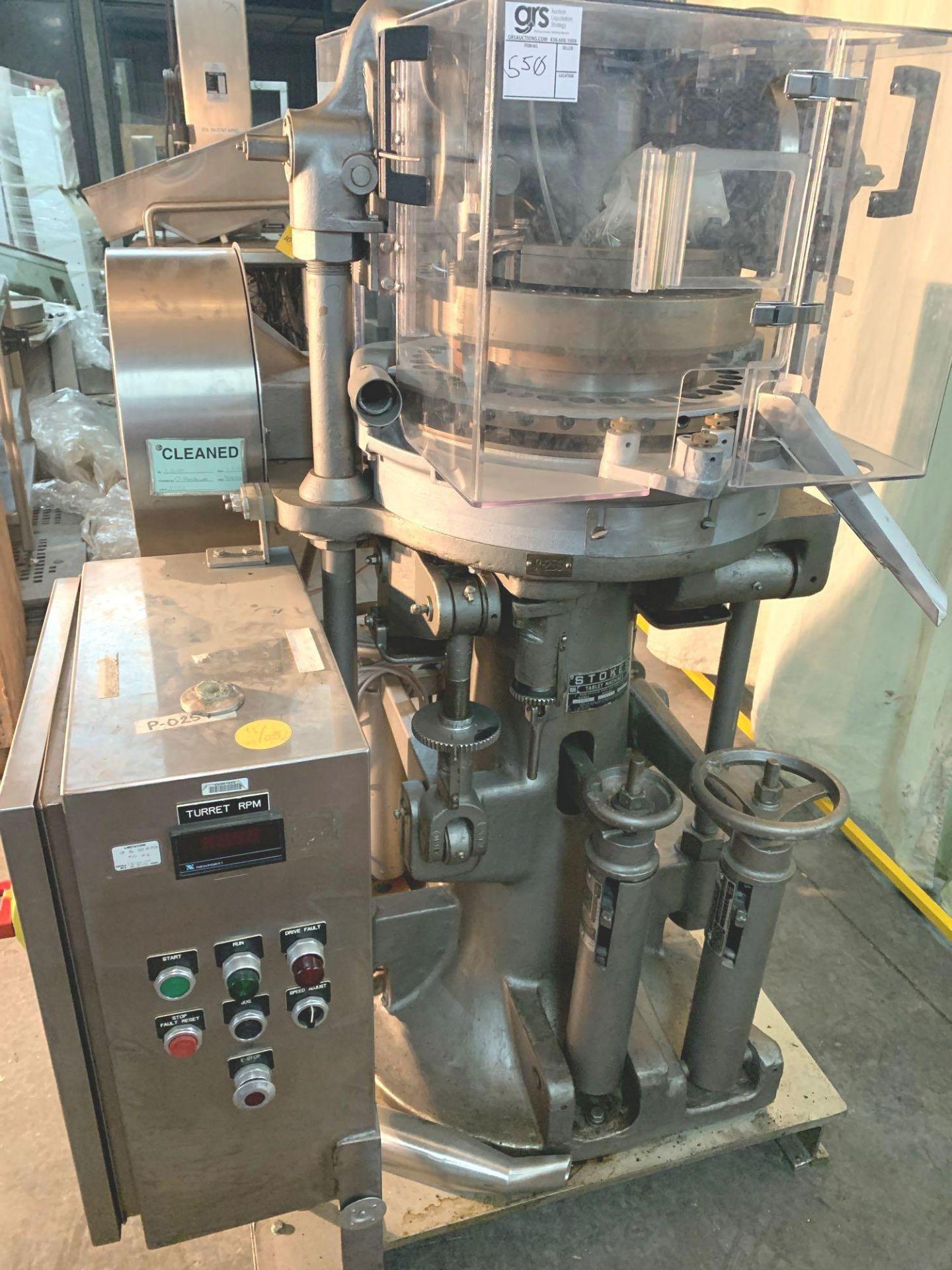 Stokes 580-1, 35 Station Tablet Press