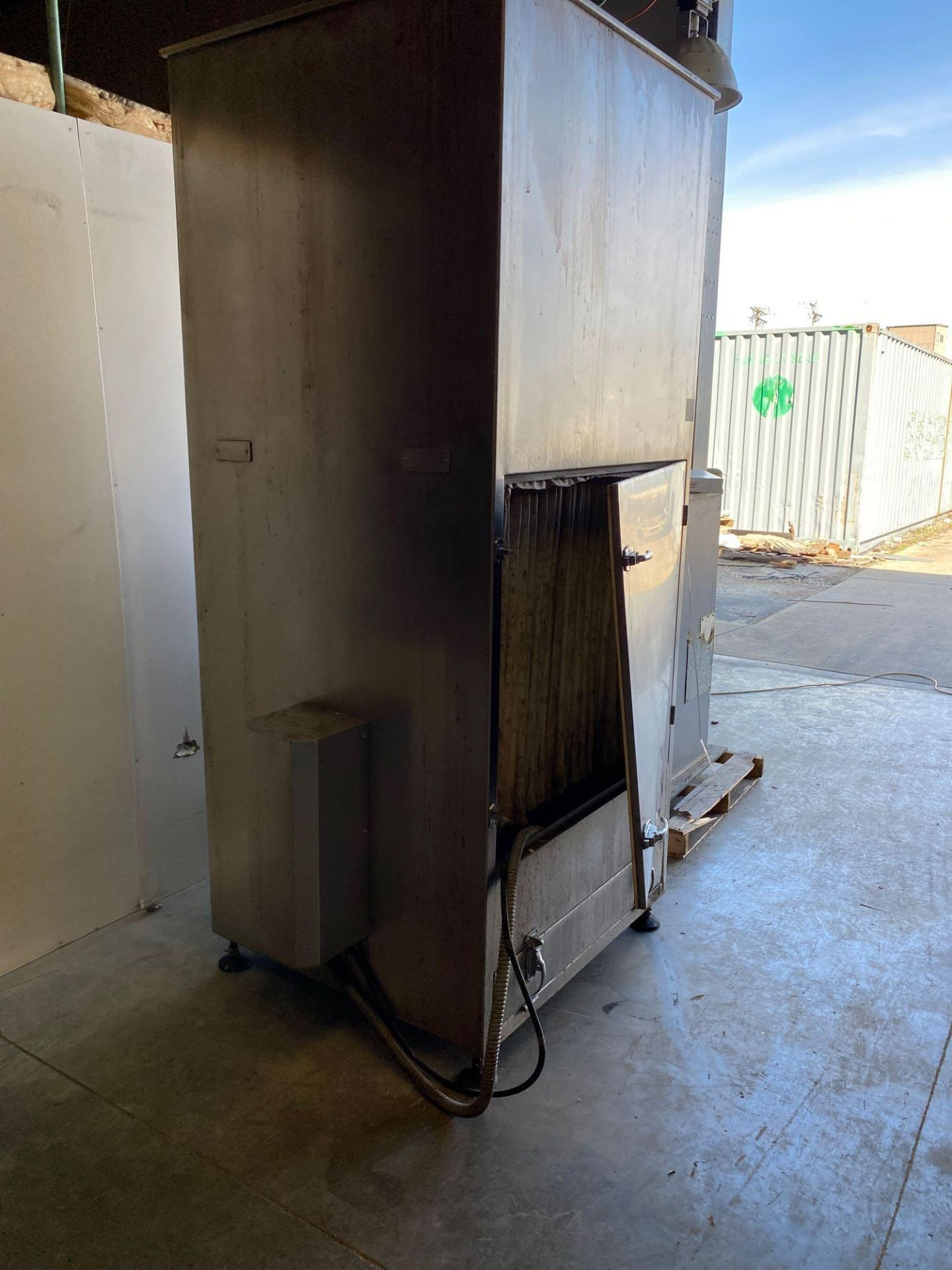 Air Exhaust Dust Collection Cabinet - Goes with 555C - Image 3 of 6
