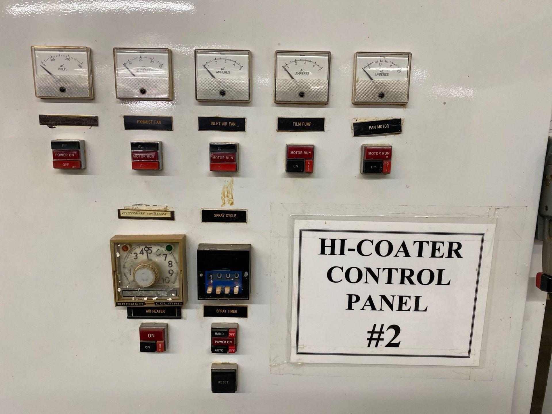 VectorFurend Hi-Coater, Flow Control Pump/Pressure Control - Image 8 of 18