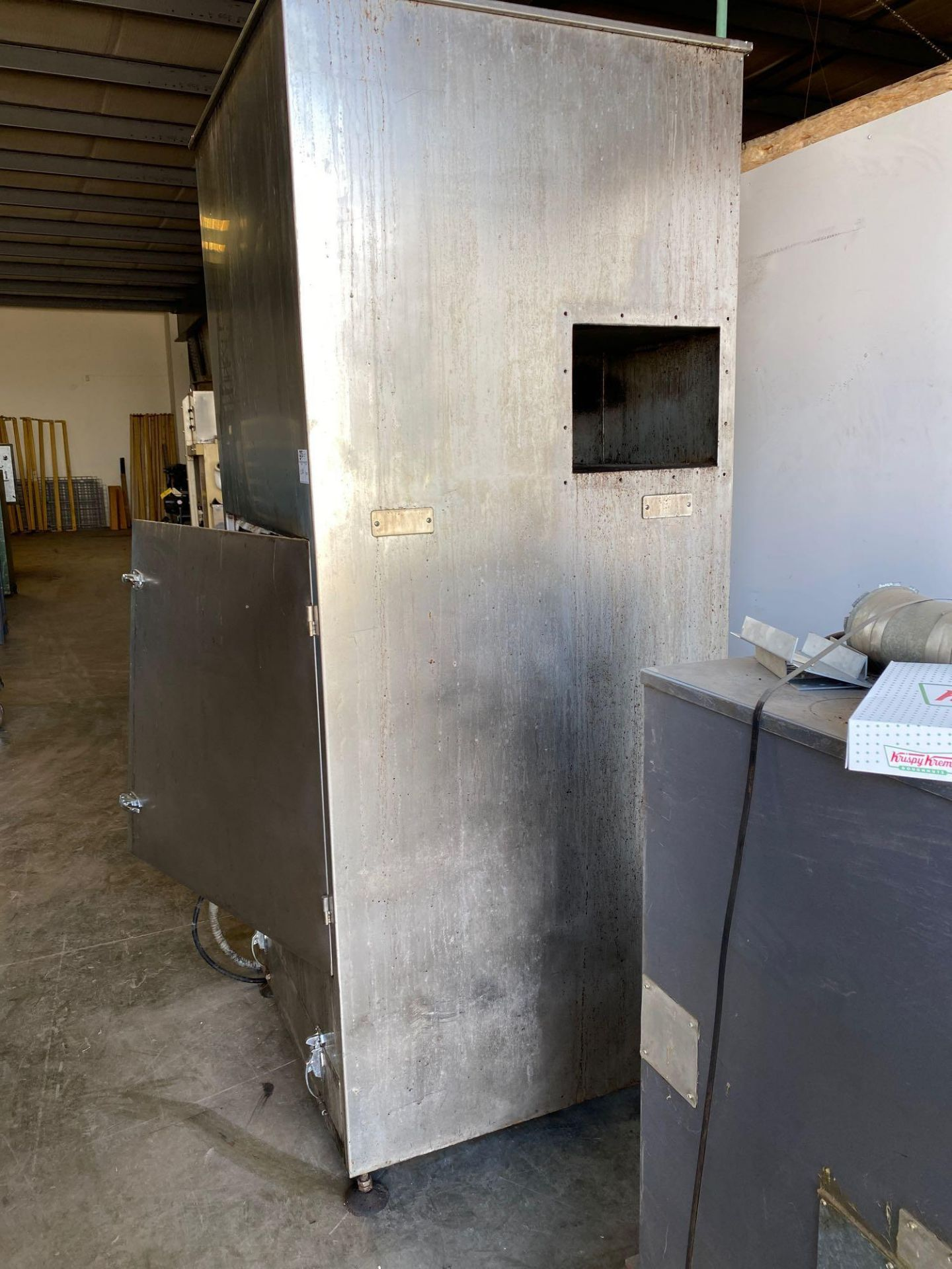 Air Exhaust Dust Collection Cabinet - Goes with 555C - Image 4 of 6