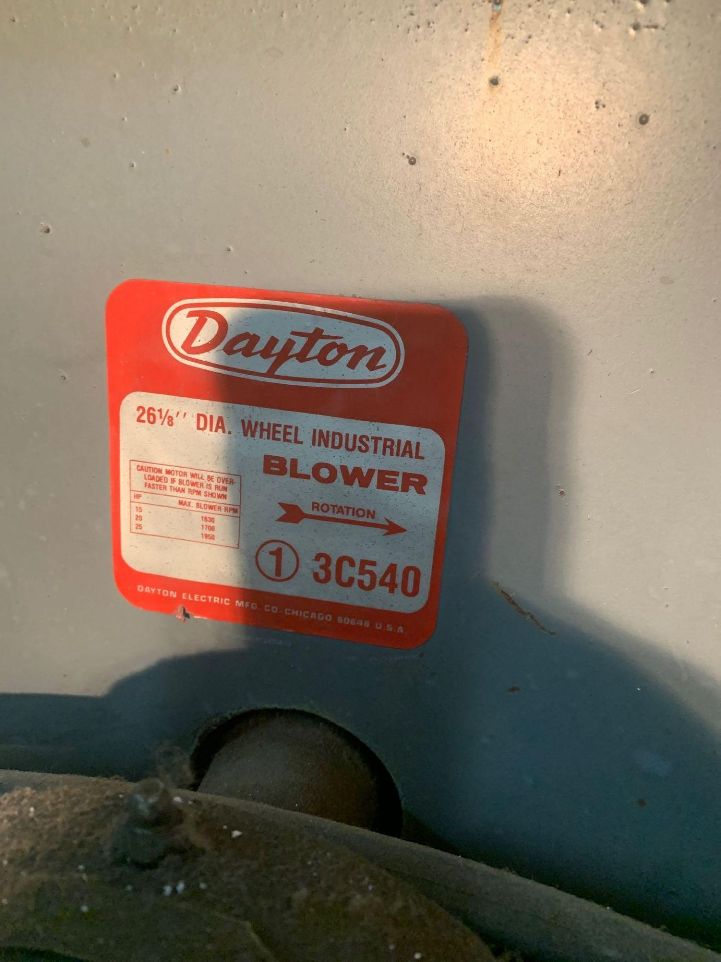 Factory Blower - Image 6 of 6