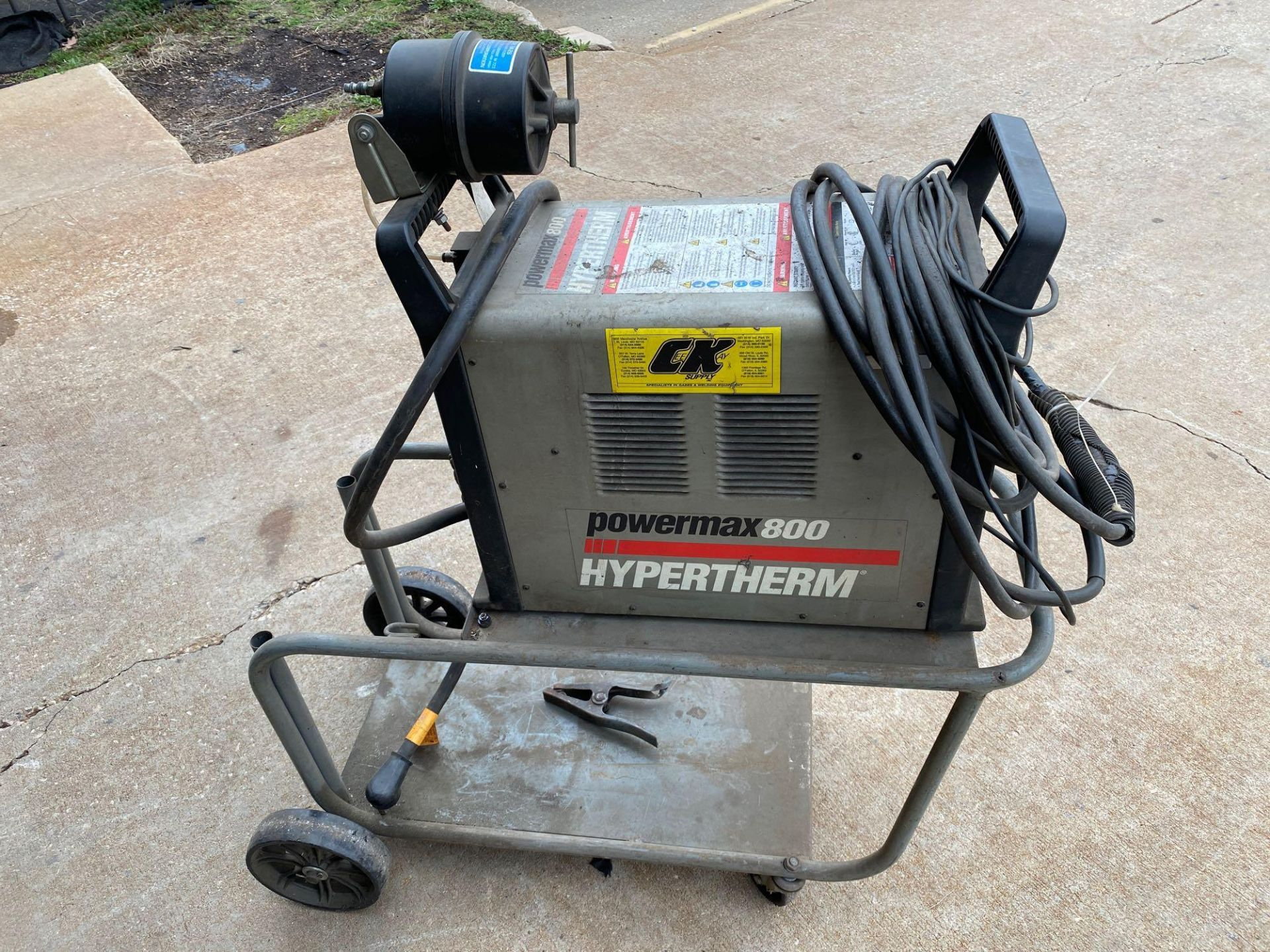 Power Max 800 Hypertherm Plasma Cutter - Image 4 of 8
